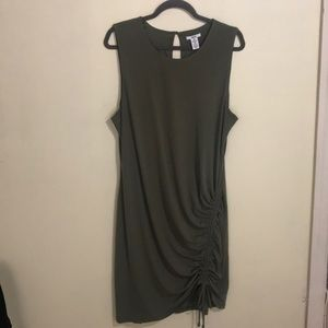 Bar lll Olive Green Dress